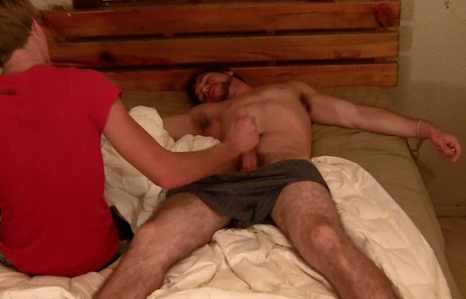 Glasses asshole tickle torture incredible!!!!